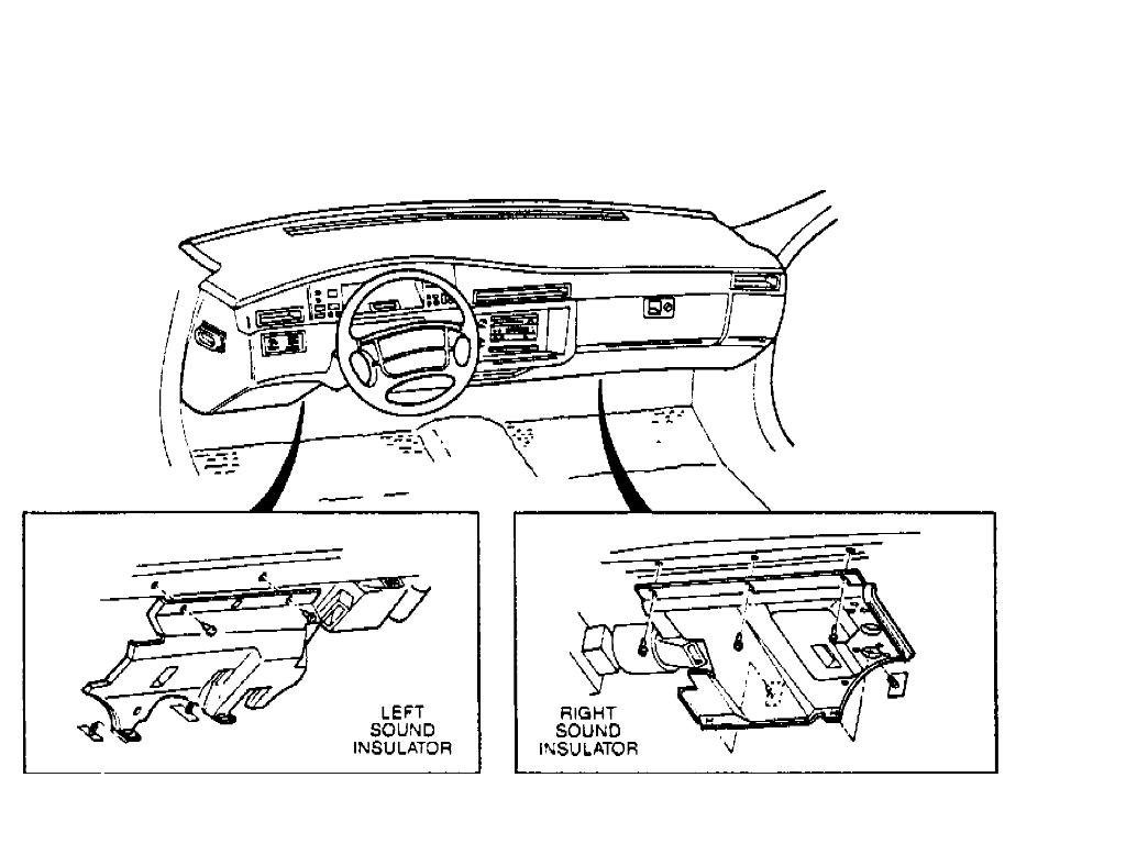 cadillac air bag system diagram