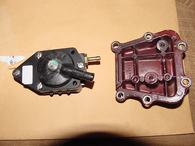 i have a 1957 evinrude lark out board motor and would like to put a rh justanswer com
