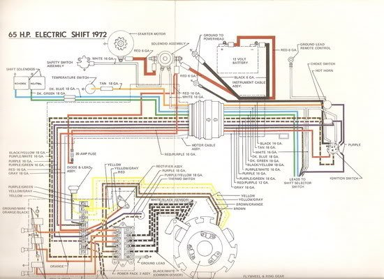 johnson 100 hp wiring diagram i need the wiring diagram for a 1973 50 hp evinrude
