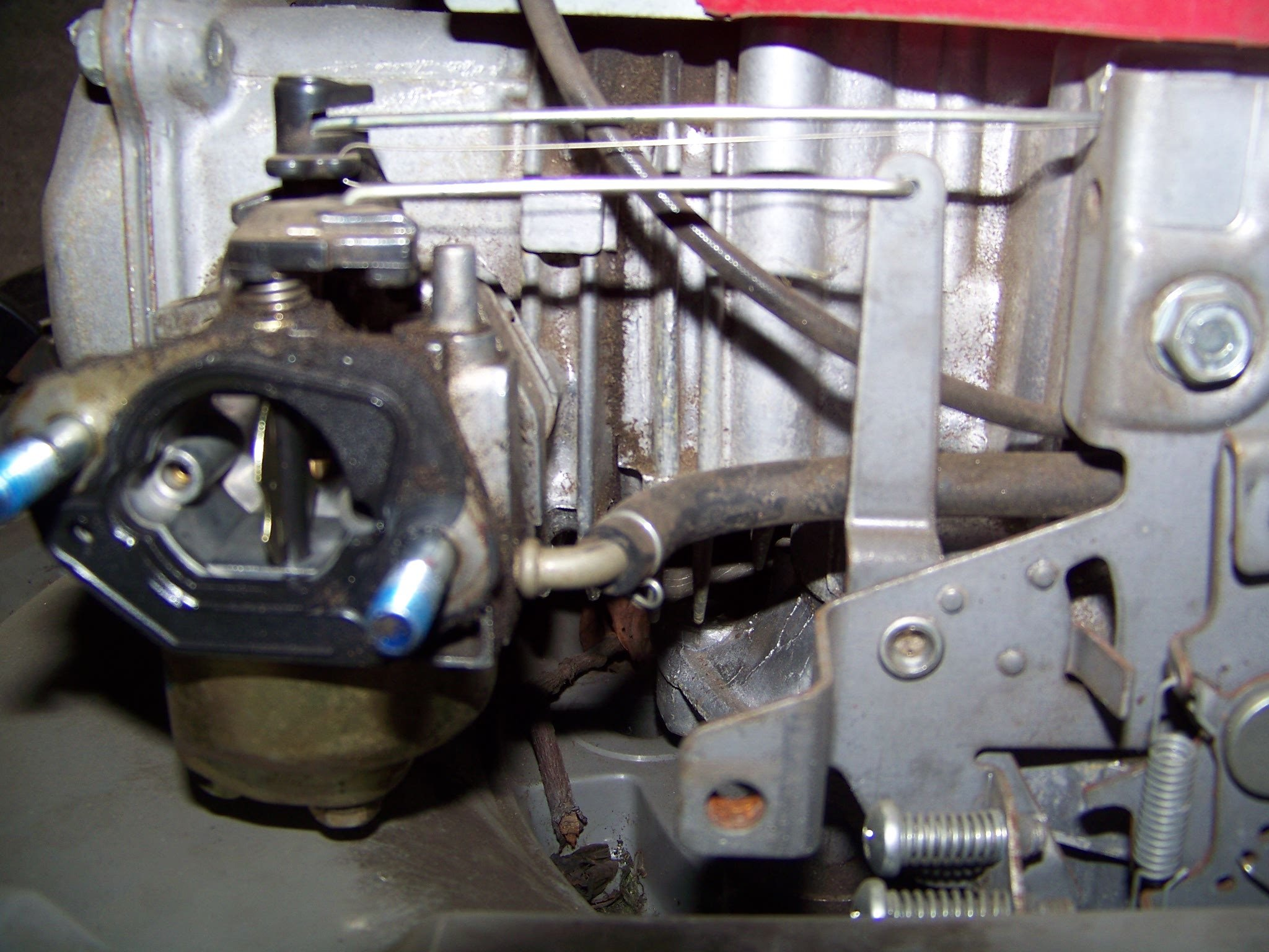 Honda Lawn Mower Carburetor Linkage Diagram