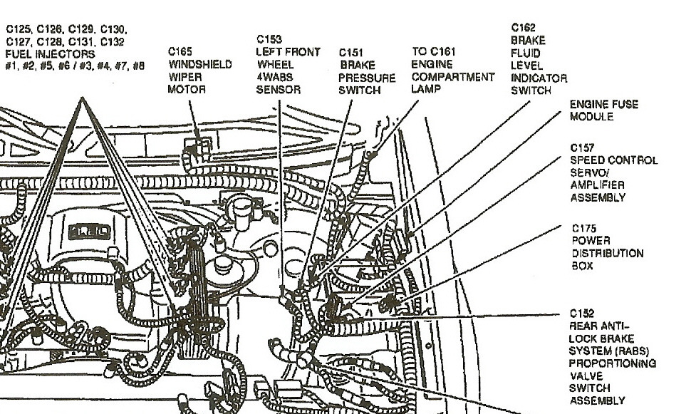 2001 ford f150 5 4 engine compartment diagram html autos 1995 F150 5.0 Engine Diagram Ford Expedition 5.4 Engine Diagram