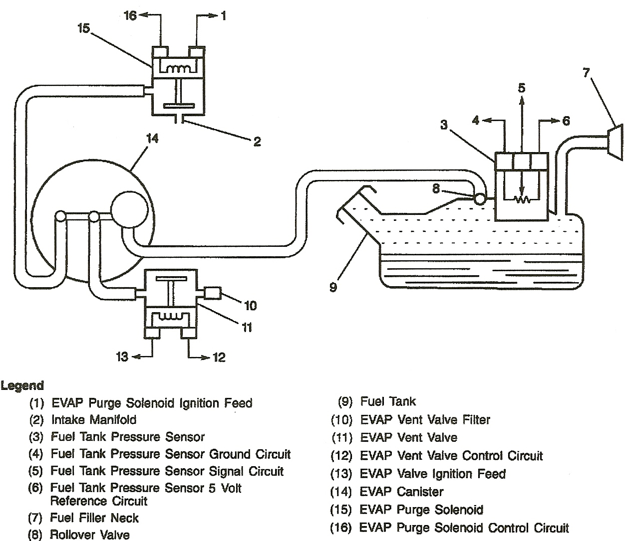 Evap Vacuum Diagram Great Design Of Wiring Gm Fuel Pressure Impala Get Free Image About Ford Control 99 Chevy System