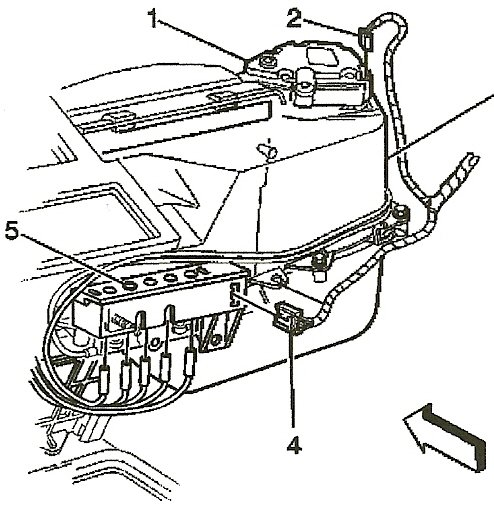 2000 S10 Heater Box Diagram