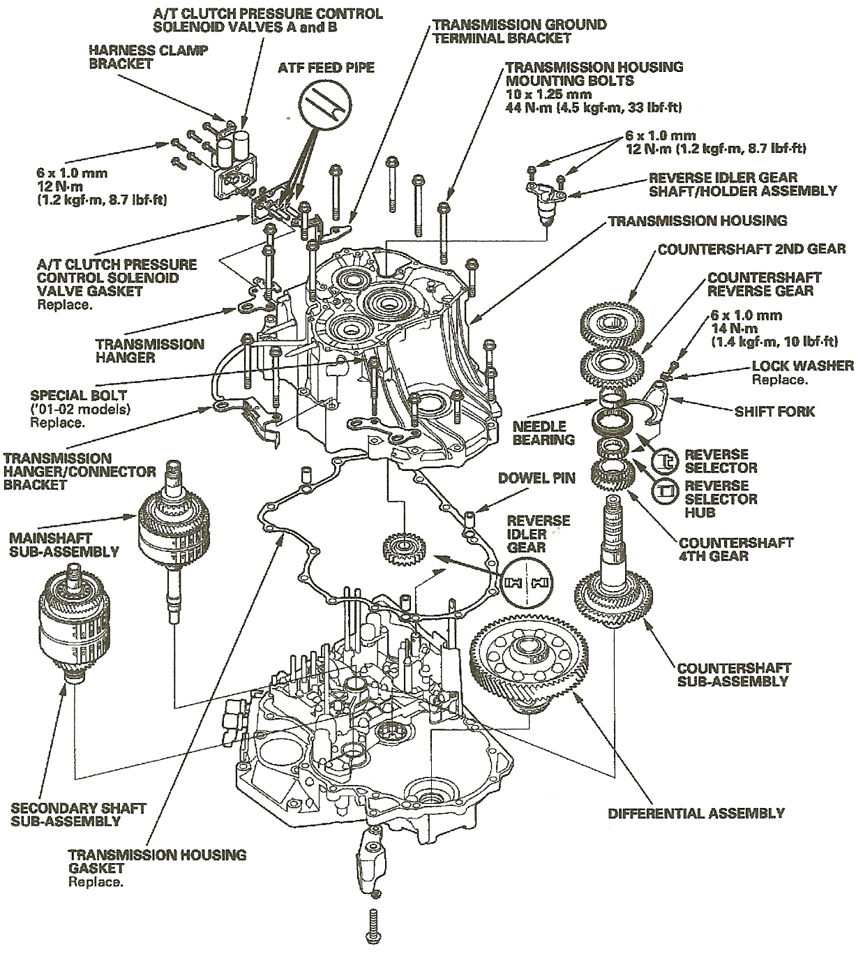 2002 honda odyssey transmission problems