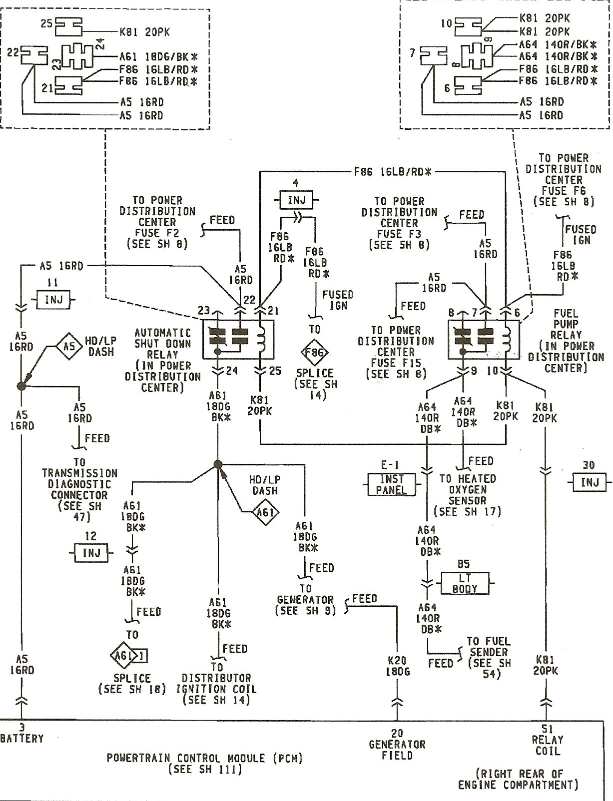 93 Jeep Wrangler Distributor Wiring Library 1999 Tj Diagram Graphic