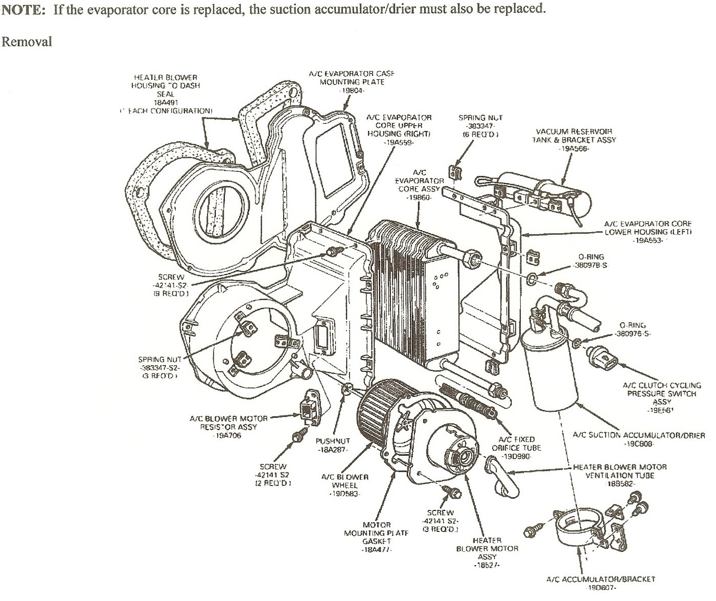 2003 ford expedition cooling system diagram