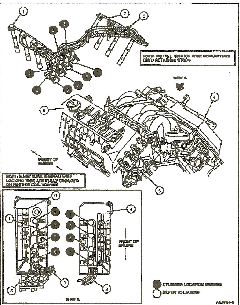 2000 lincoln continental engine diagram i have a 1997 lincoln continental and i need to install ... 1975 lincoln continental engine diagram