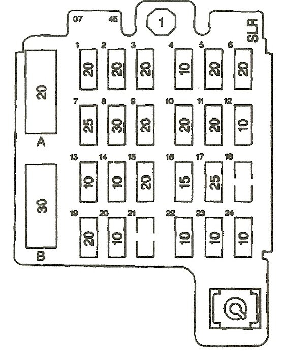 2003 chevy blazer fuse box location 35 wiring diagram