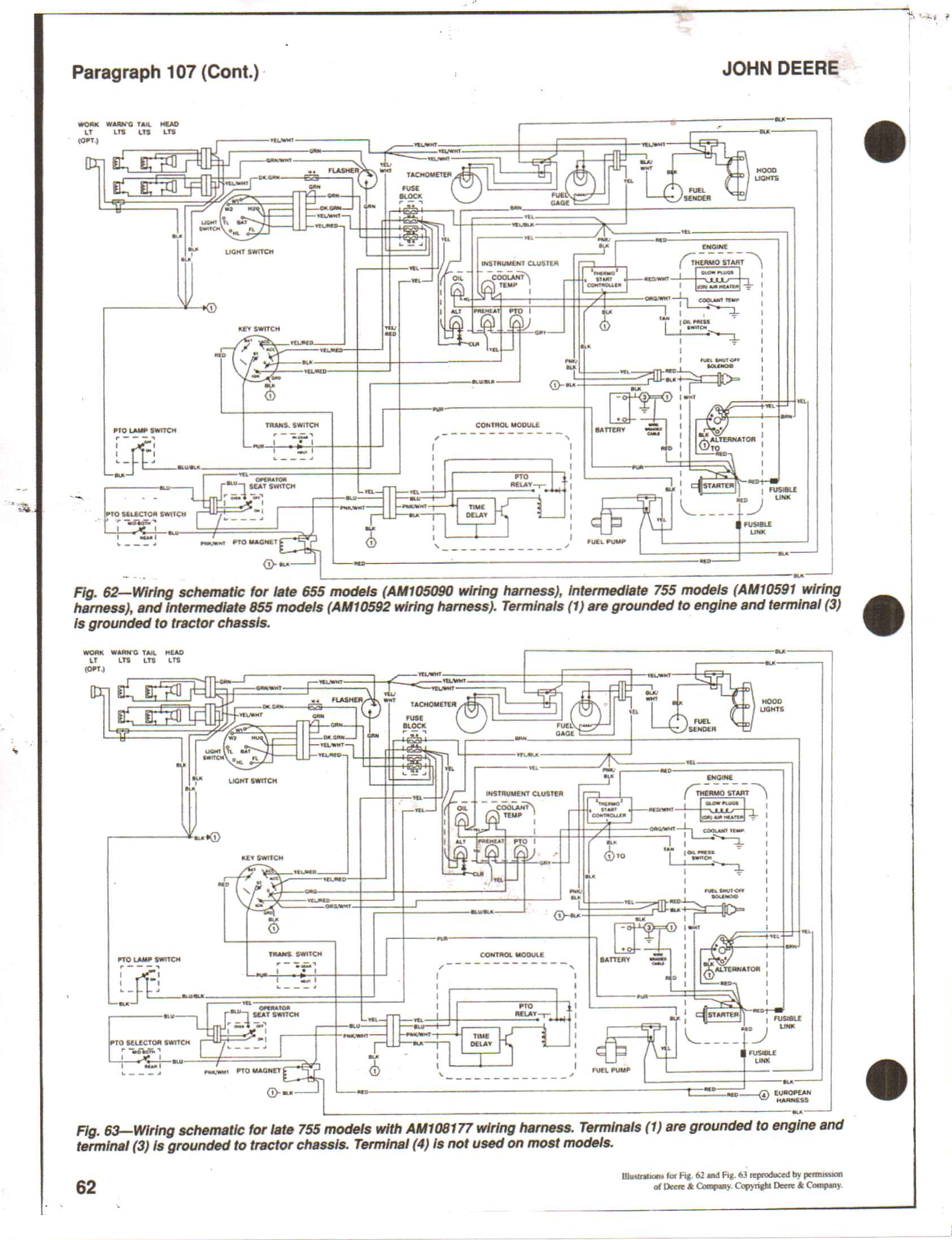 John Deere 955 Wiring Harness - Wiring Diagram M4 on