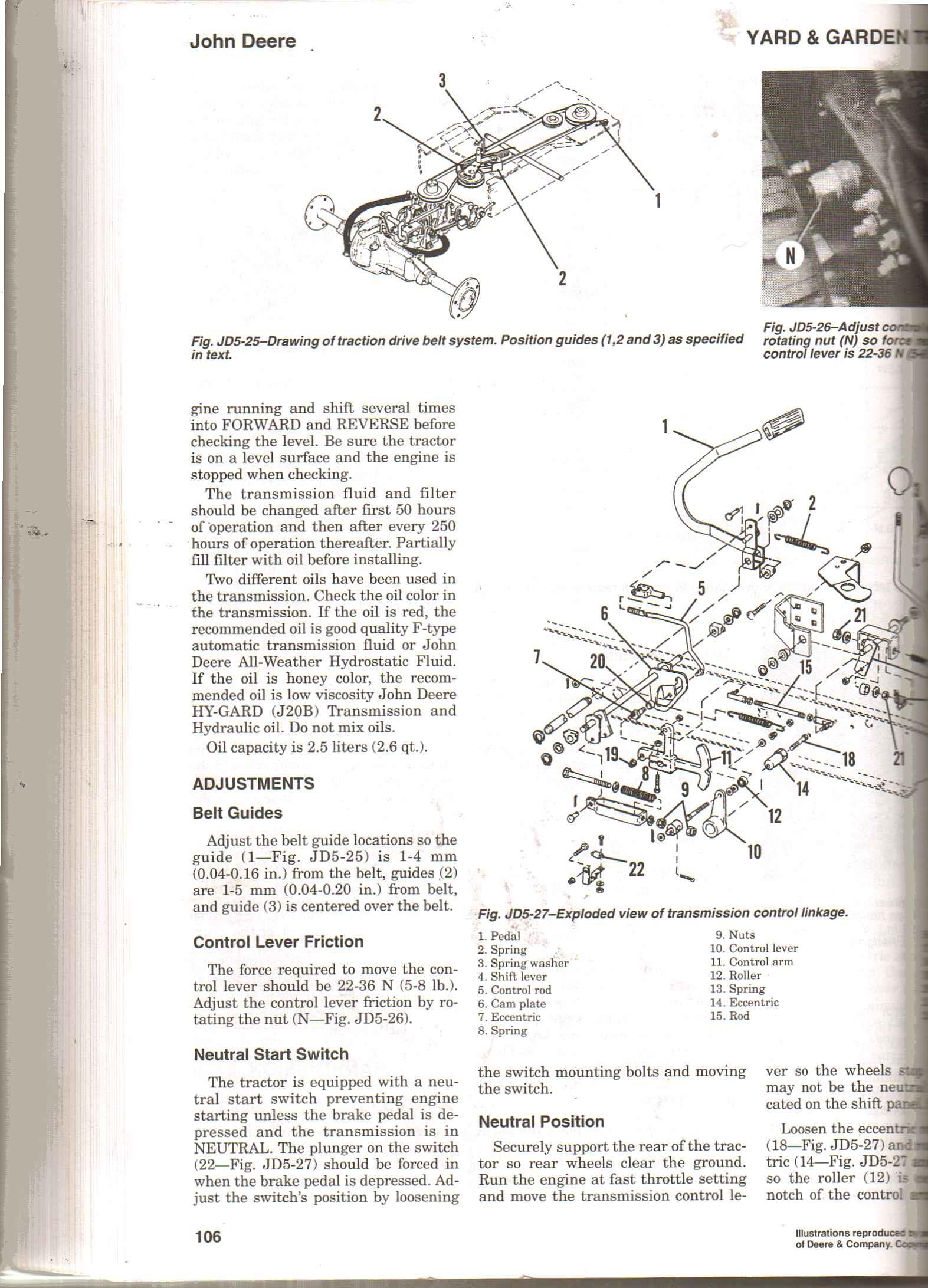 replacing transmission drive belt on a deere 320 garden. Black Bedroom Furniture Sets. Home Design Ideas