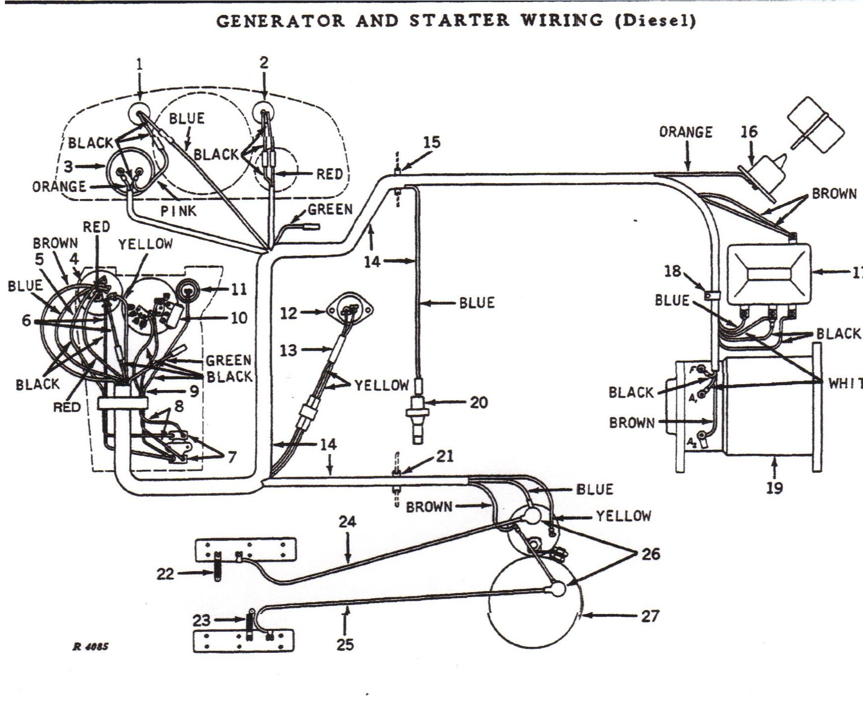 in search of a wiring diagram for the injector pump for a