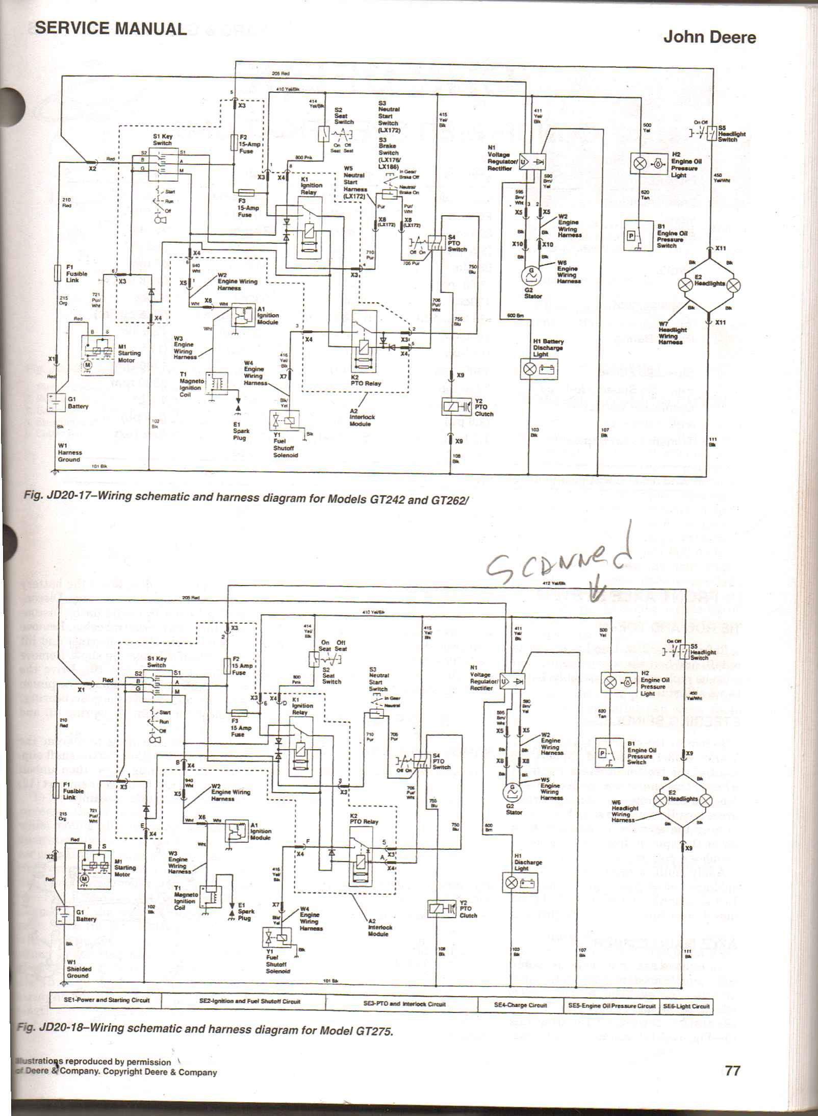 John Deere Electrical Diagrams Trusted Wiring 444h Fuse Box Diagram Besides B Tractor Further Decks