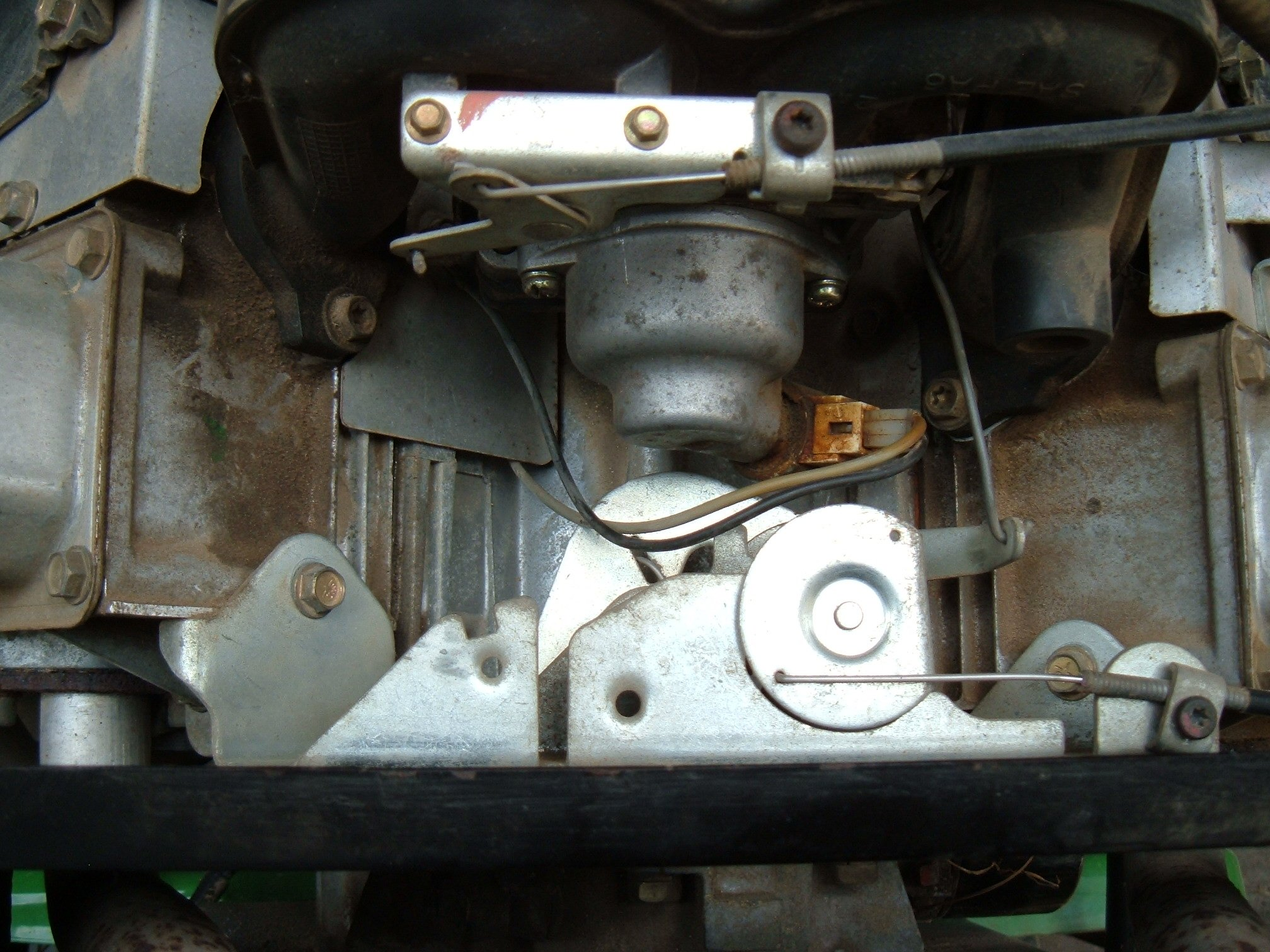 i am having a problem getting my deere l120 to start and