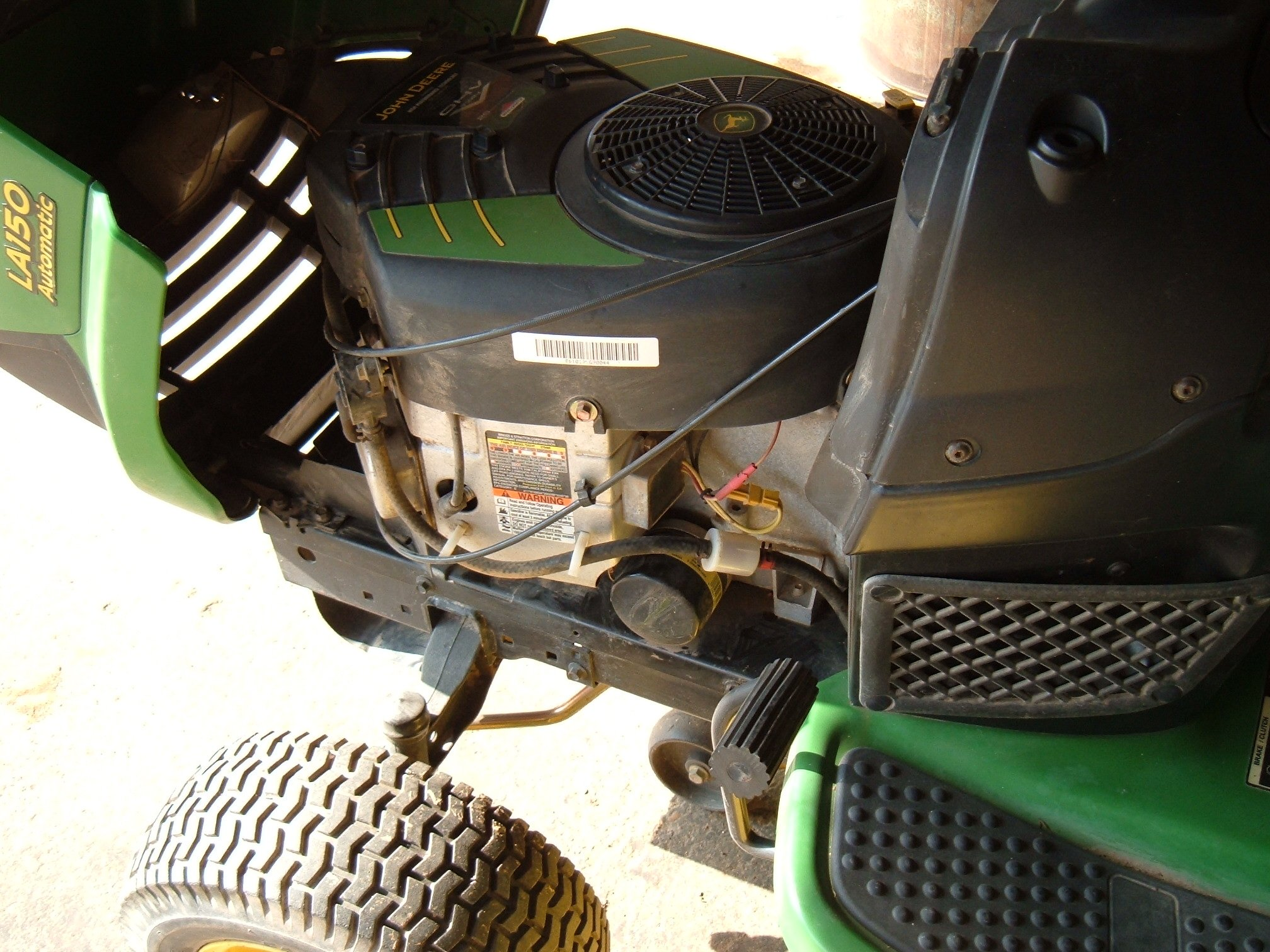 I Have A Craftsman Fs5500 Riding Mower With A Briggs