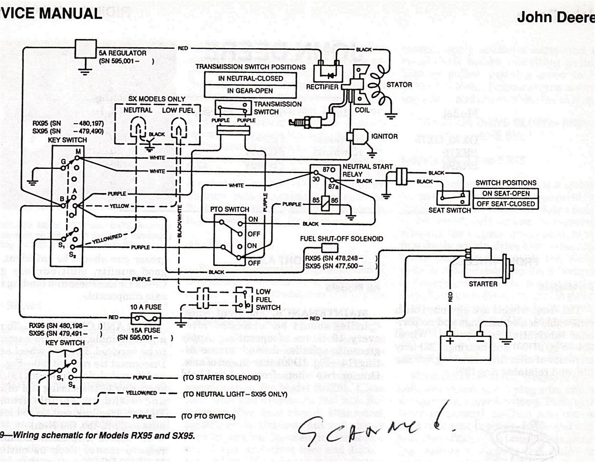 Diagram Curtis I Just Bought An Old Rx95 Jd