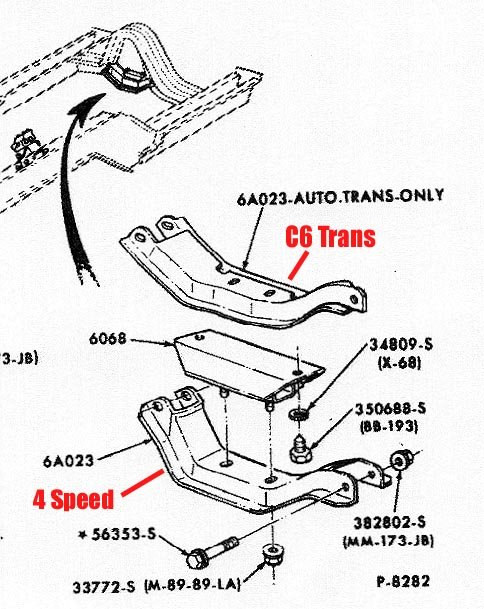 C6 3 Speed Transmission Diagram