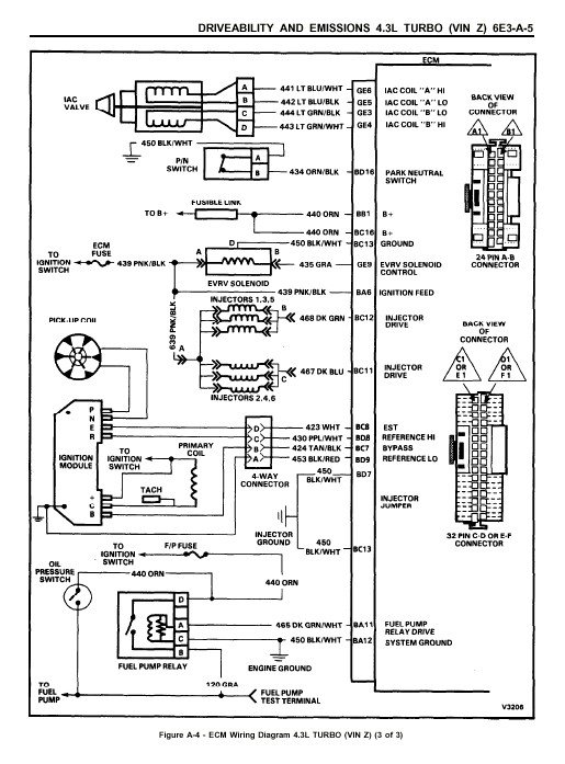 i have a 1991 gmc syclone with a egr system that does not work i rh justanswer com GMC Van Wiring Diagram Chevy Radio Wiring Diagram