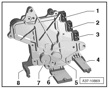2003 audi a4 where is the speed sensor located and instructions on