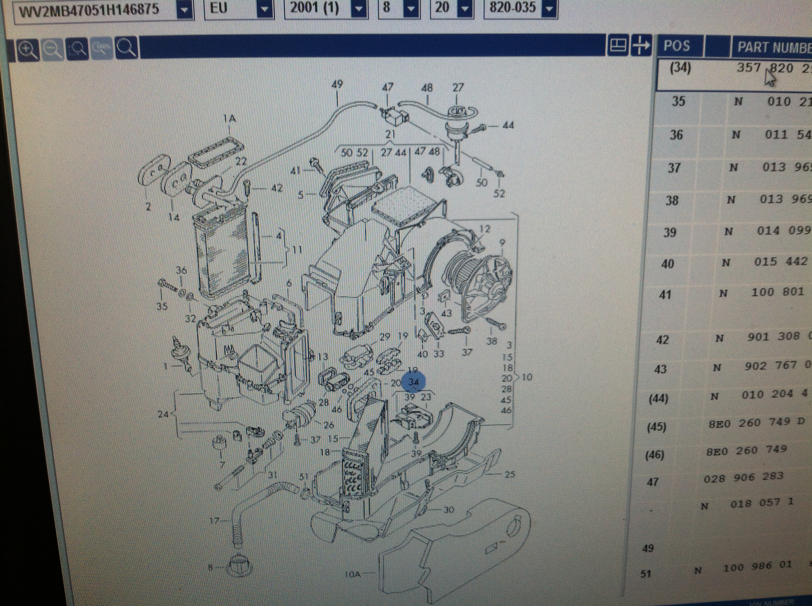 Ac Issue 2001 Eurovan  2 8 Vr6 Engine Aek  Problem Is I