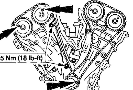 I Change Timing Chains On My 01 Tribute According To The Diagram Now Rhjustanswer: Mazda Tribute 2001 Crank Sensor Location At Gmaili.net