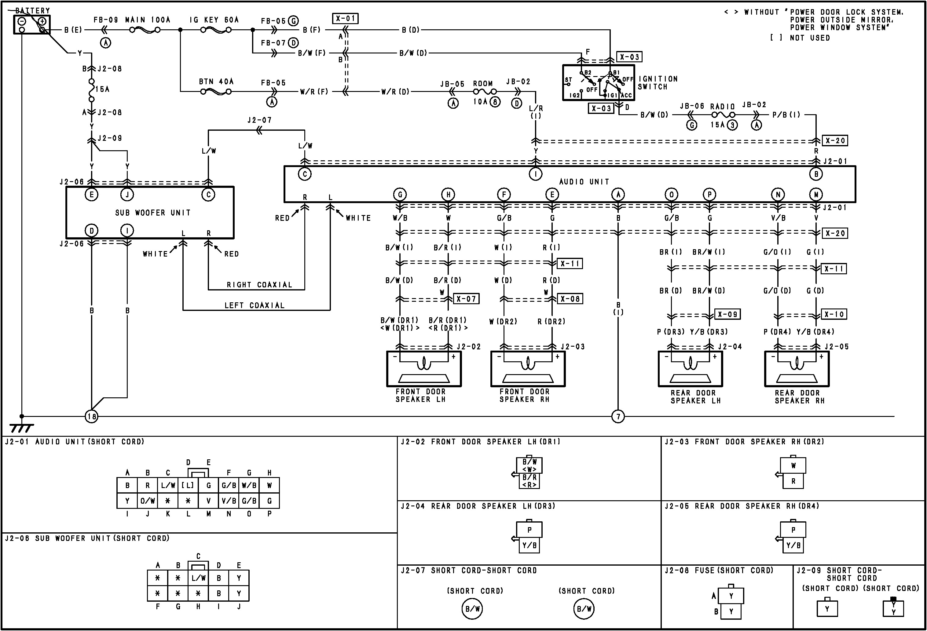mazda tribute door wiring diagram power wheels electrical wiring, Wiring diagram