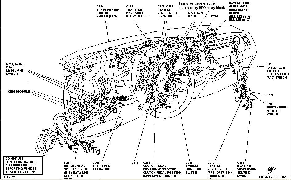 97 Expedition 5 4 4 Wheel Drive Where Is The Transfer Case