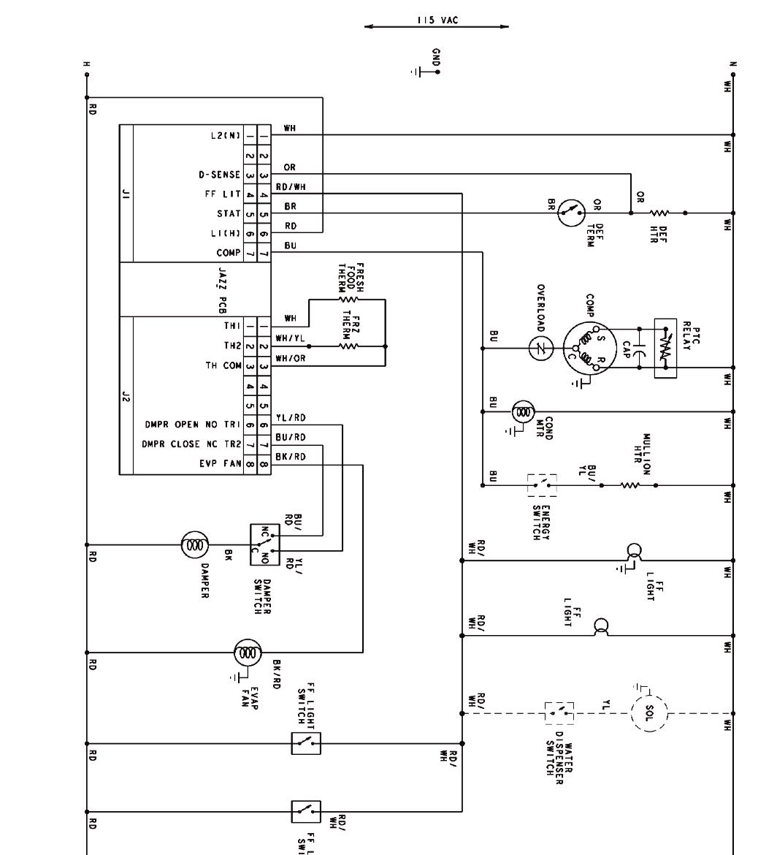 brown freezer wiring diagram walk in cooler wiring diagram hvac rh ericomp com