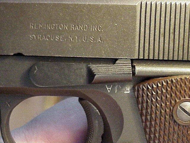 What is the value of my Remington Rand 1911A1  45 ACP in