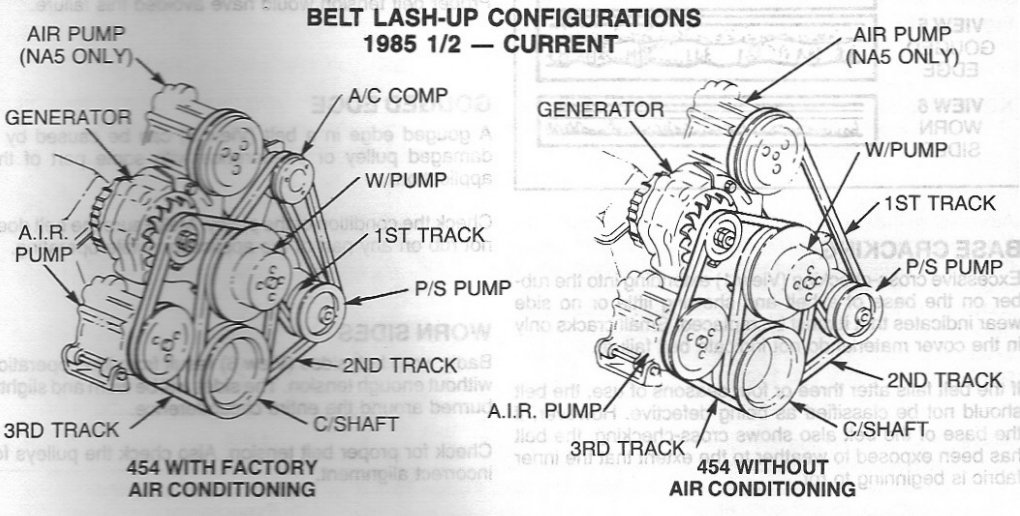 i took out my water pump for a 454 chevy engine and can ... 454 v8 engine diagram 1979 454 chevy engine diagram