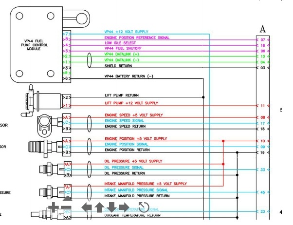 vp44 wire diagram   17 wiring diagram images