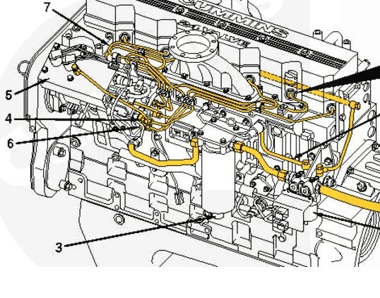 isx engine parts diagram isx water pump replacement wiring