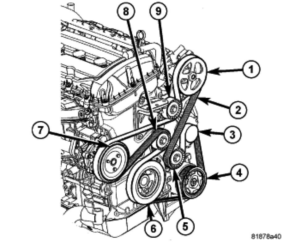i need a serpentine belt routing diagram for a 2007 dodge