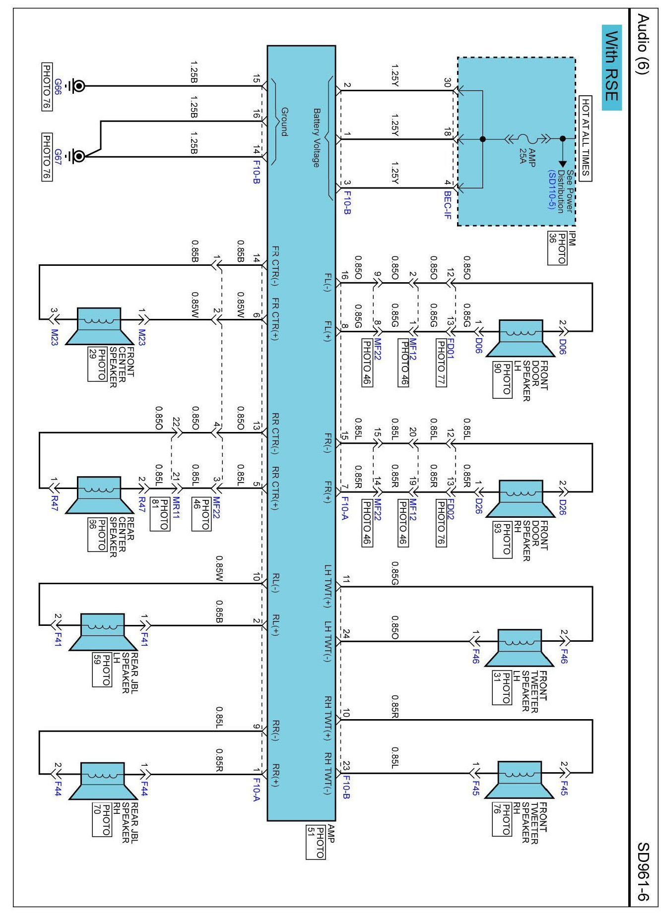 Need A Wiring Diagram For The Infinity Sound System On 2010 Sedona Kia Pregio Electrical Graphic