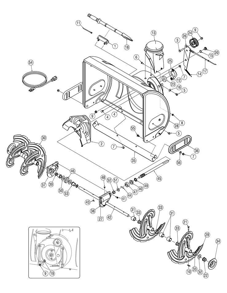 Craftsman Snow Blower Model 486 24839 Parts Diagramsnow Highcare Asia
