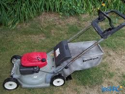 Honda Harmony 215 Lawn Mower Works Ok