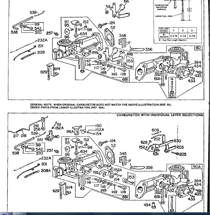 Have An Old Rotavator Engine With Horizontal Crank Model 80202 The Briggs And Stratton Carburetor Diagram Http Wwwjustanswercom Small Full Size Image