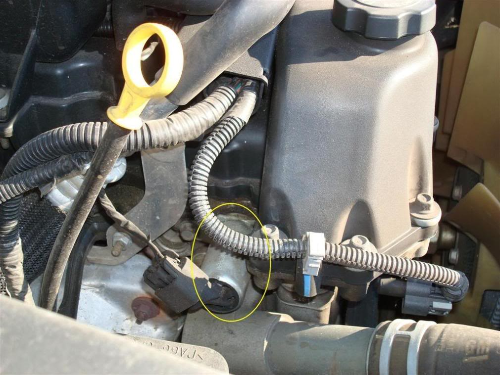 Location of fuel filter on gmc 2006 envoy 4.2 need to test fuel ...