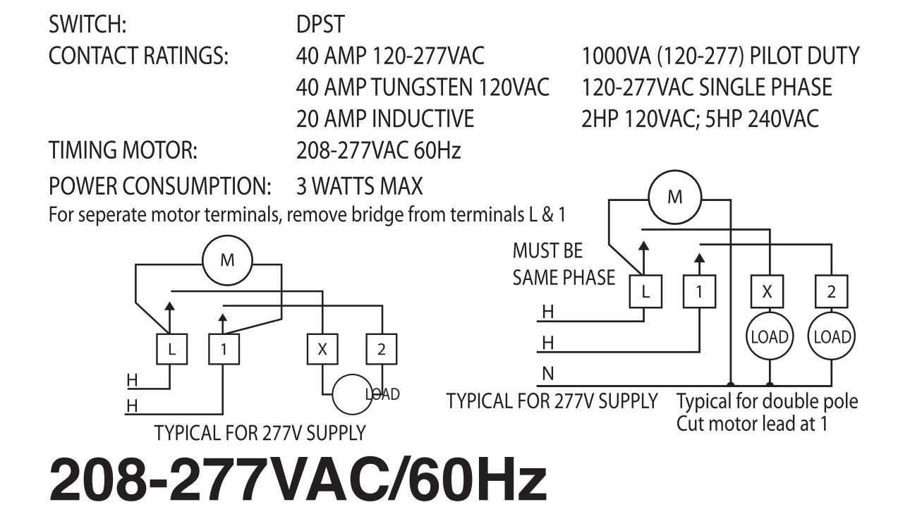 Time Clock Wiring 277v Application Diagram 480v Timer For Mechanical Example Electrical Rh Huntervalleyhotels Co Diagrams Power Light On