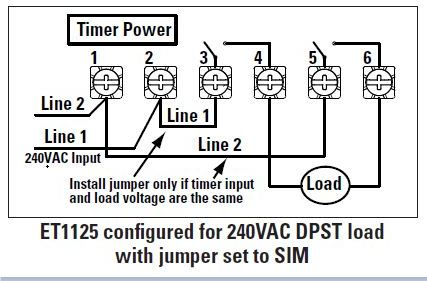 i am replacing a mechanical intermatic timer with an