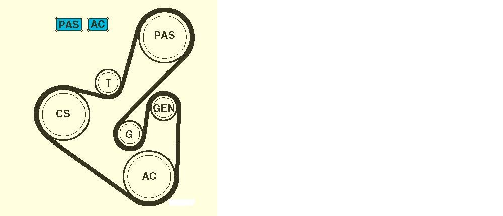 Serpentine Belt Diagram Citroen Berlingo