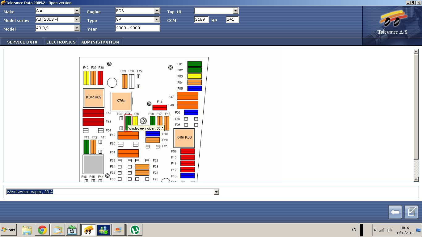 Audi A3 Fuse Box Diagram 24 Wiring Images 1998 2012 06 09 091706 Wiper 2004 3 2v6 Windscreen Wipers Not Working I Need A