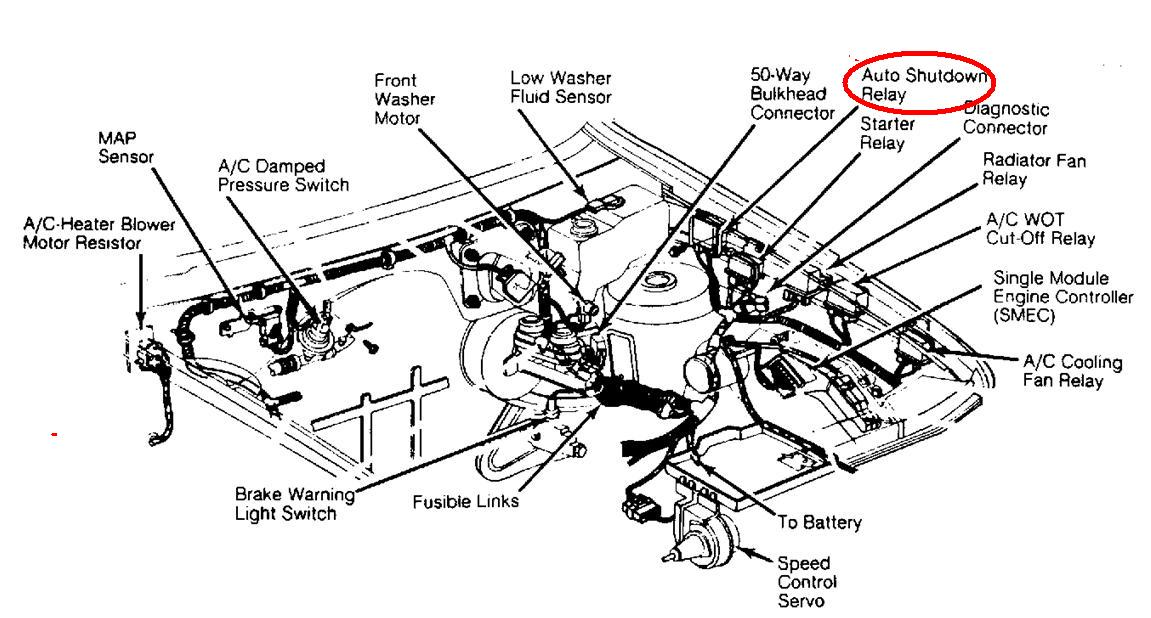 Fuel Pump Will Not Start Where Is The Pump Relay Or Relays Located  Diagrams Would Be Very Helpful