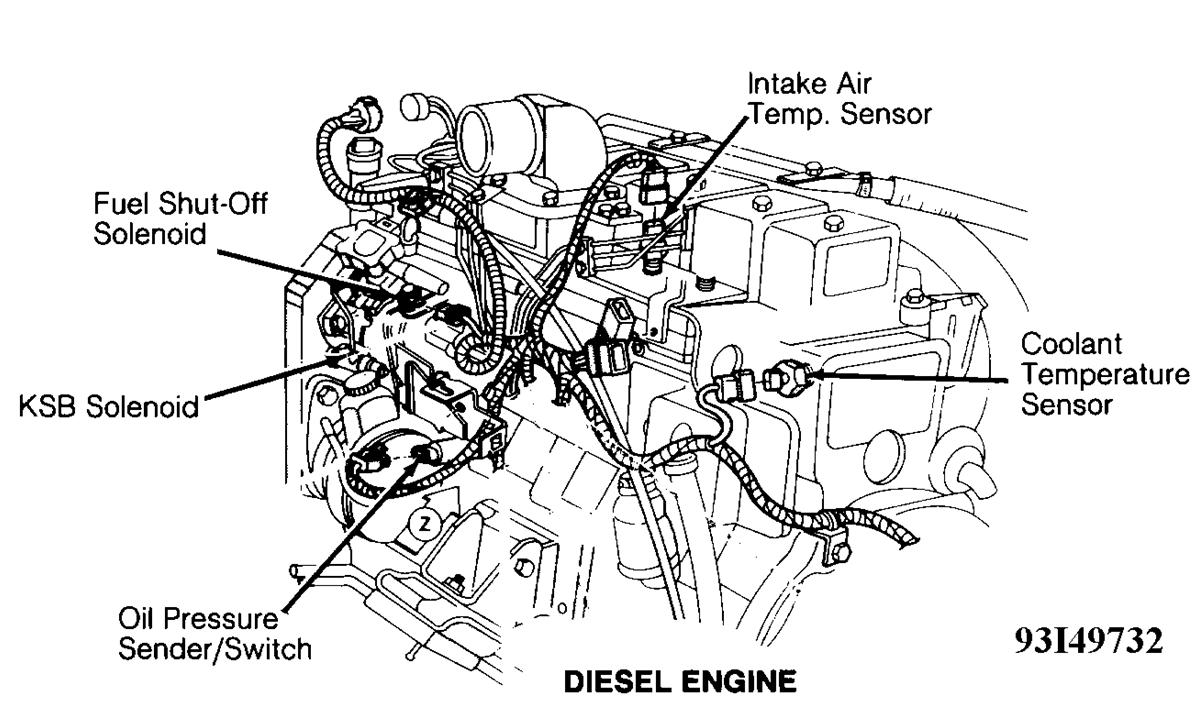 This Diagram You Sent Me Dosent Look Like The Fuel System Under My Hood Of My 1993 Dodge Ram