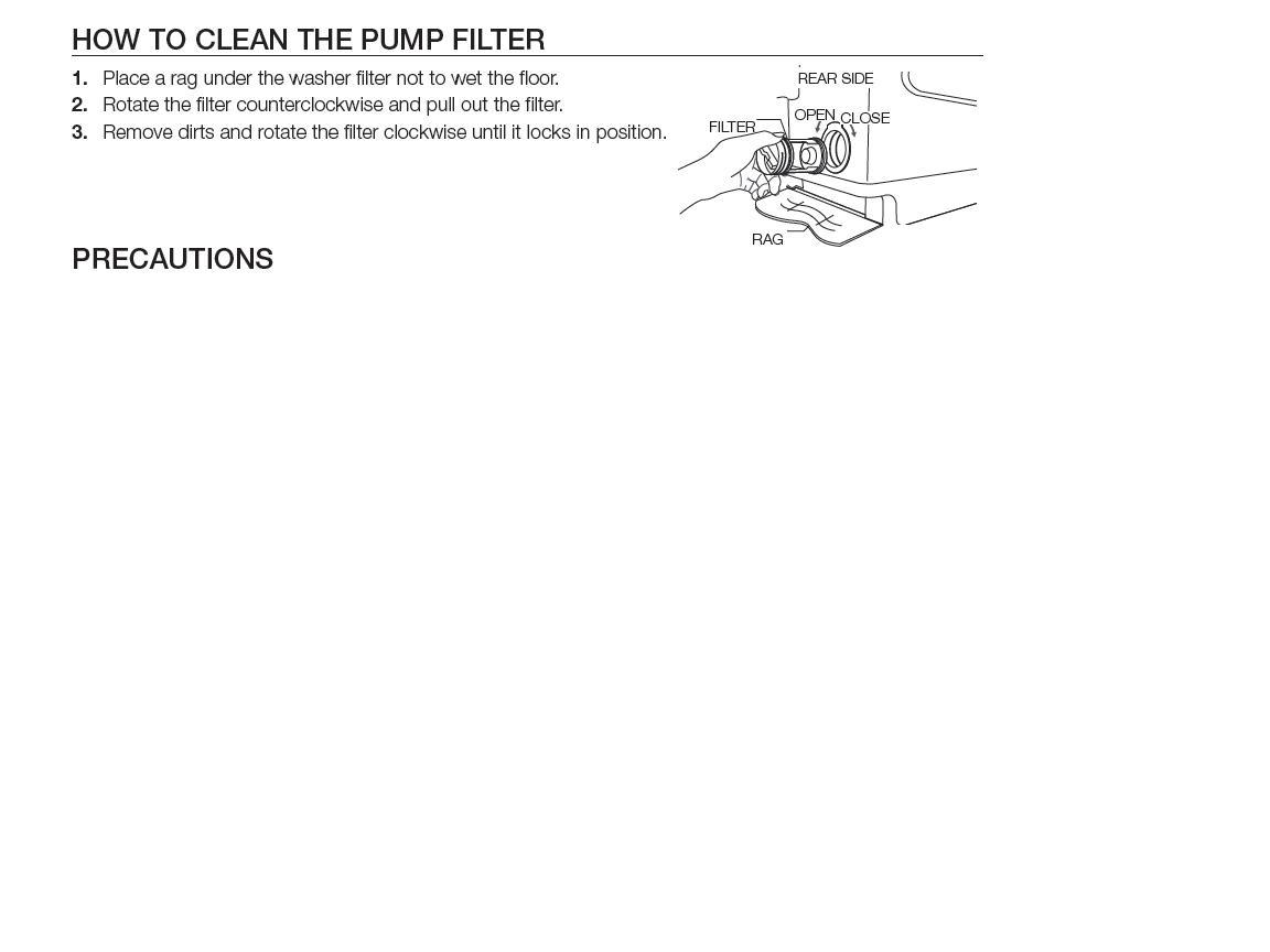 How To Clean Washing Machine Drain Se Is Displayed On My Samsung 8kg Top Load Washing Machine