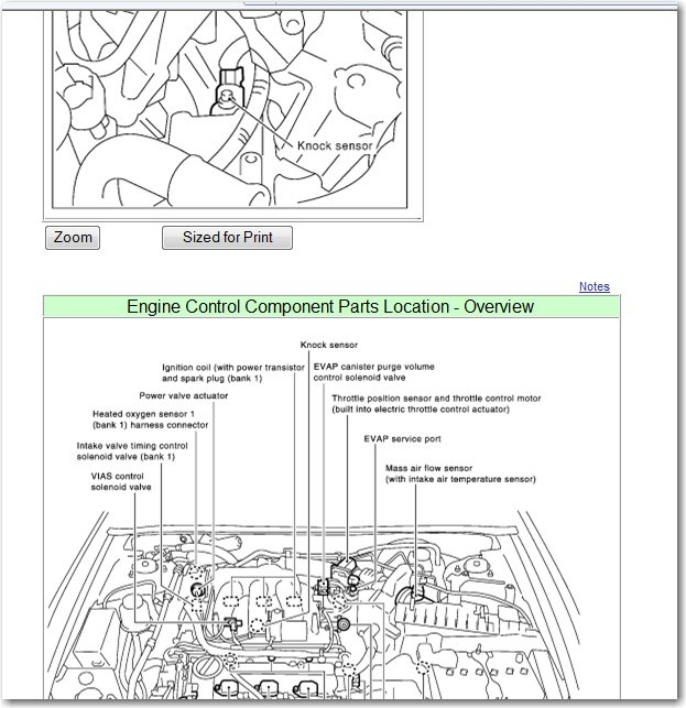 Where Is The Knock Sensor Located On A 2002 Nissan Maximarhjustanswer: 2003 Nissan Maxima Knock Sensor Location At Gmaili.net