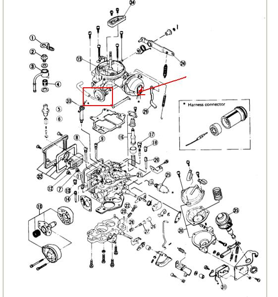 i have an 1985 nissan 720 with the z24 motor i have recently purchased the truck this summer 1984 nissan 720 wiring diagram nissan z24 plug wire diagram