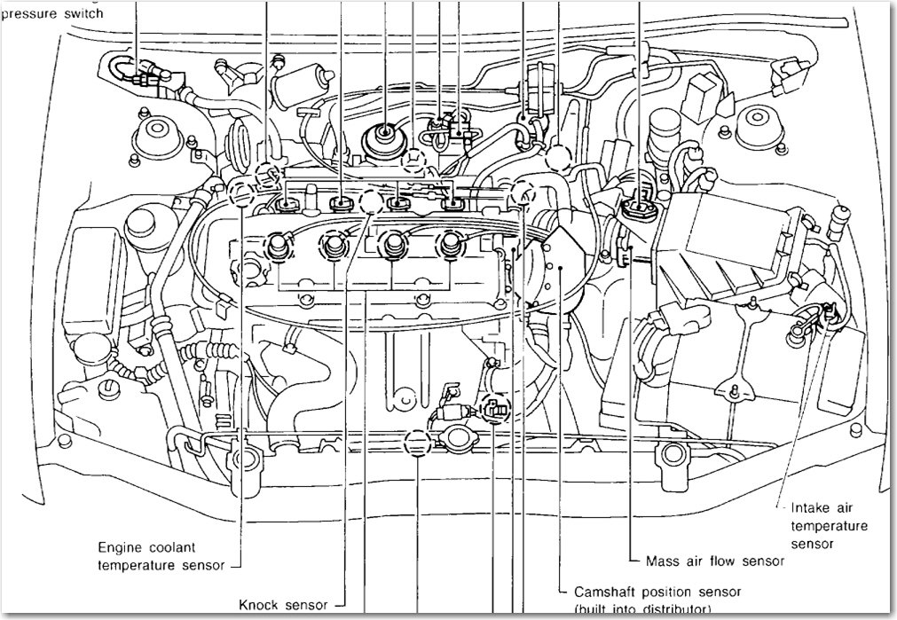 1997 saab coolant sensor diagrams  saab  auto parts