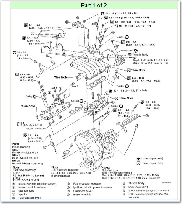 I am replacing the intake manifold gaskets on my 2000