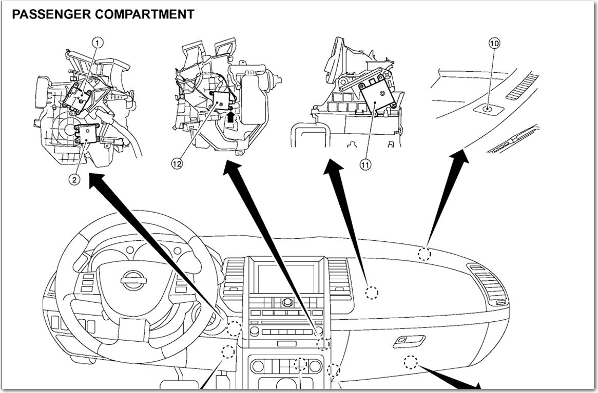 nissan quest fuse box diagram wiring schemes
