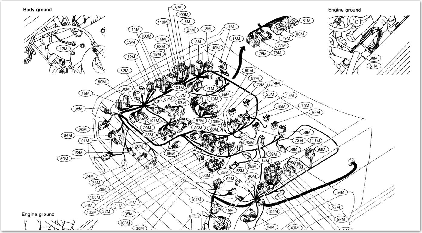 1994 nissan pickup belt diagram html
